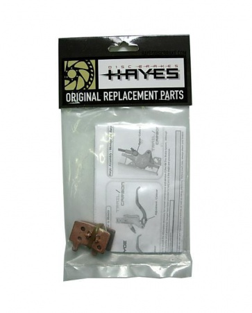 Hayes Stroker Trail Carbon Sintered Metailic Pads 98-22041