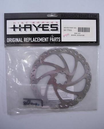 Hayes V8 203mm 8inch Bike Disc Brake Rotor 98-17552