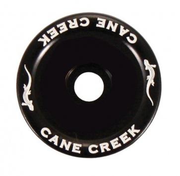 """CANE CREEK 1.5"""" TOP CAP BLACK"""