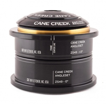"CANE CREEK ANGLESET 1-1/8"" BLACK"