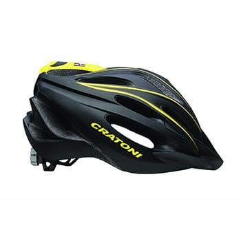 Cratoni C Blaze Black Yellow Helmet Unisize