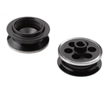 SRAM RISE 40 CONVERSION CAPS FRONT 9mm QR (ROCKSHOX ONLY)