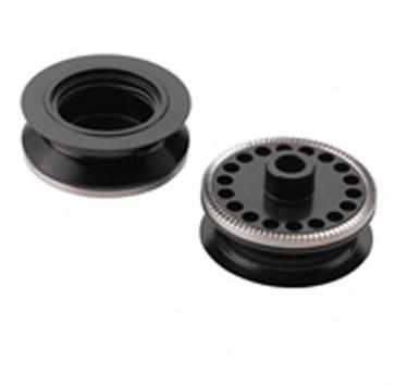 SRAM RISE 60 CONVERSION CAPS FRONT 9mm QR (ROCKSHOX ONLY)