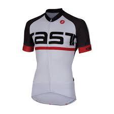 Castelli META Jersey FZ Short Sleeves White Charcoal