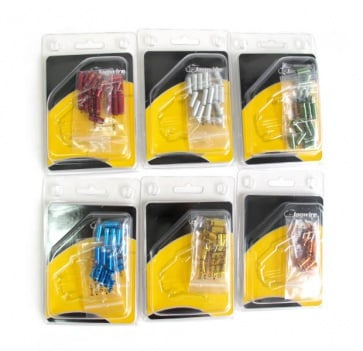 Jagwire Cable End Cap Kit CHA099 4.5mm 6colors