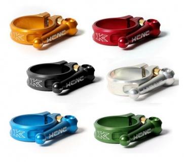 KCNC flip quick release seat clamp 38.2mm 6 colors