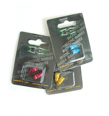 KCNC presta color valve cap