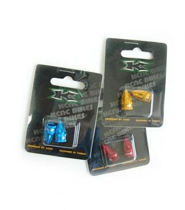 KCNC Schrader color valve cap