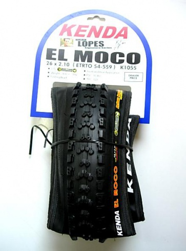Kenda El Moco Mountain Bicycle Tire K1055 26x2.1-2.35