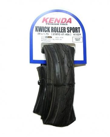 Kenda KwickRoller Sports Commute Tire tyre 20x1.75 406