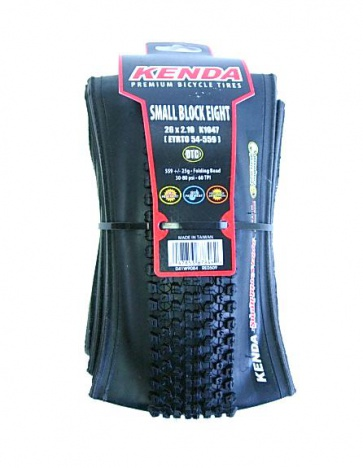 Kenda SmallBlock8 Bicycle Tire 26x2.1 CrossCountry