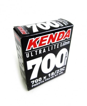 Kenda SuperLite Bicycle Inner Tube 700x23C 60mm