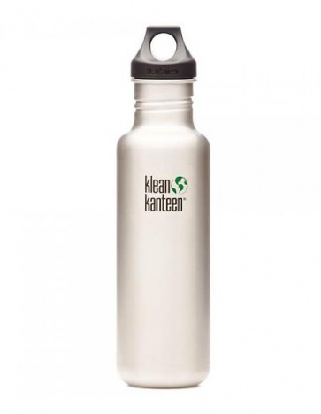 Klean Kanteen Classic Water Bottle 800ml Silver