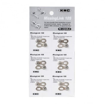 KMC Missing Link 10 SP silver Only One Link