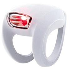 Knog Frog Strobe Red LED Rear Light Safety white