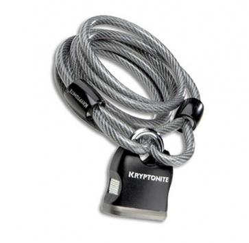 KRYPTONITE KRYPTOFLEX 818 CABLE & PADLOCK 8mm x 6'
