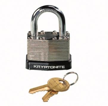 KRYPTONITE LAMINATED STEEL KEY PADLOCK 45mm
