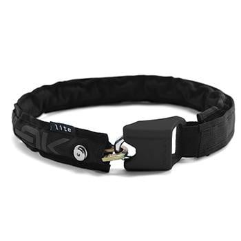 HIPLOK LITE WEARABLE 6mm CHAIN LOCK BLACK