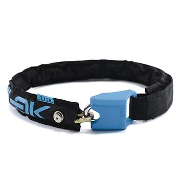 HIPLOK LITE WEARABLE 6mm CHAIN LOCK CYAN