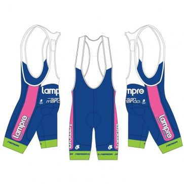 Merida Lampre Team Bib Shorts