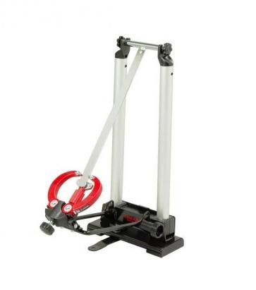 Minoura FT-1 portable bike wheel maintenance stand