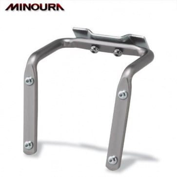 Minoura SBH-300 Dual Bottle Cage Mount for Saddle Rail