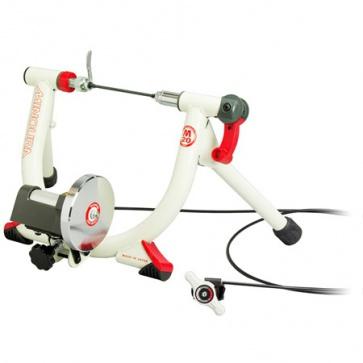 Minoura LiveRide LR241 Mini Cycling Trainer White Riser3