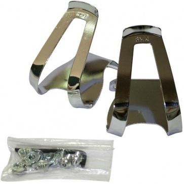 MKS half clips steel bicycle pedal