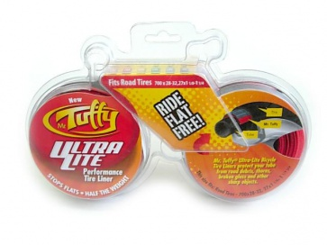 Mr.Tuffy Bicycle UltraLight Tyre Liners Prevent Flat 700x28~32