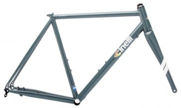 Cinelli Nemo Tig Disc Bike Frameset Raw Color