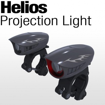 NLTEK Helios Projection Torch Light LED 1200Lumen