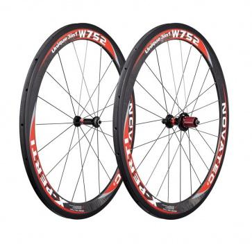 Novatec X-perti W752 carbon wheelset 700c