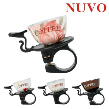 Nuvo Coffee Cup Bell Cycling Bicycle 4colors