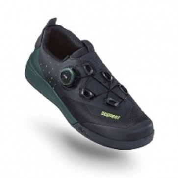 Suplest Off Road Pro Flat Pedal Shoes Black Green