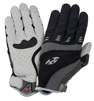 OGK EXG-1 Long Finger Cycling Gloves black