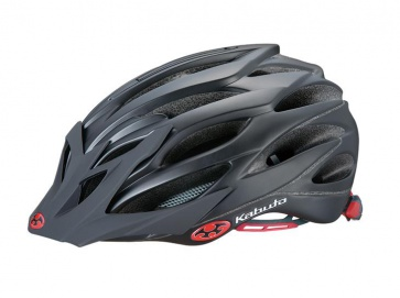 OGK Faro Bicycle Helmet Cycling Cateye Fit Matt Black