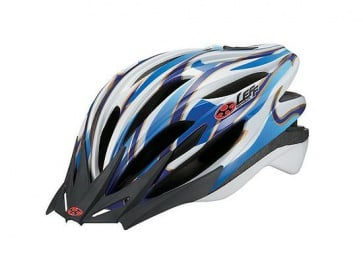 OGK Leff Cycling Helmet Super Light Black Blue