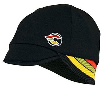 Pace Reversible Cinelli 2Layer Wool Hat Black