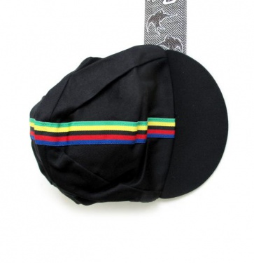 Pace Traditional Black Cycling Cotton Cap
