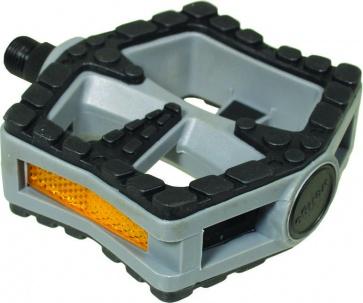 Action Pedal Road Cruiser 9/16 Nylon Gray Black Barefoot