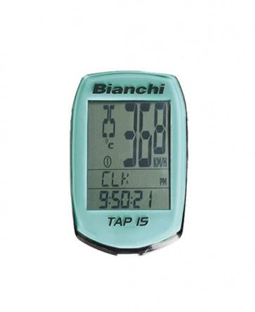 Bianchi Cycling Computer Tap 15