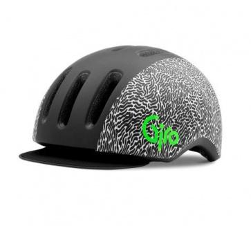 Giro Reverb Helmet Matte Black/White Squiggle