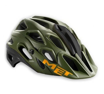 Met Lupo HES MTB Helmet Green Black