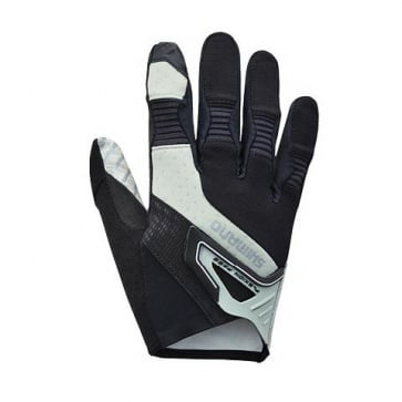 Shimano Trail Gloves Long Fingers Black/Gray