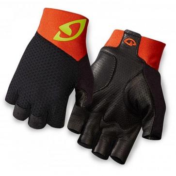 Giro Zero II Half Finger Glove Black/Plum Orange