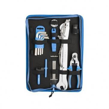Unior 1600A6 Set of Bike tools 17 Pcs in Bag