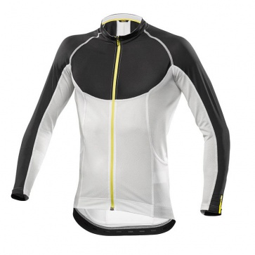 Mavic Ksyrium Pro Long Sleeves Jersey Black-White