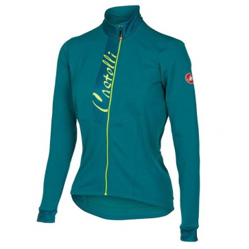 Castelli Sorriso Womens Long Sleeves Jersey Blue