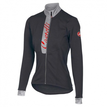 Castelli Sorriso Womens Long Sleeves Jersey Grey