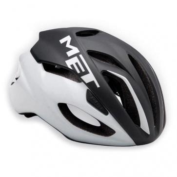 Met Rivale Road Bike Helmet Black White